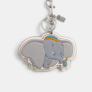 Disney X Coach Bag Charm With Dumbo